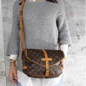 Louis Vuitton Saumur 30 Double Sided Crossbody Bag